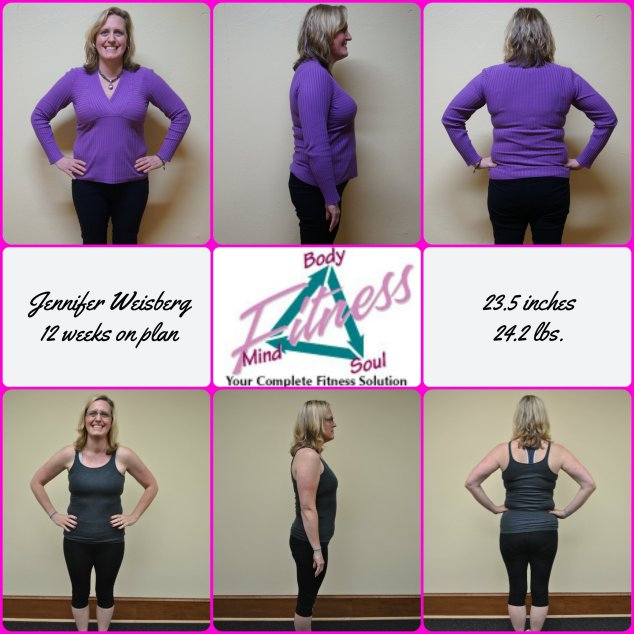 Jennifer Weisberg 12 week photo