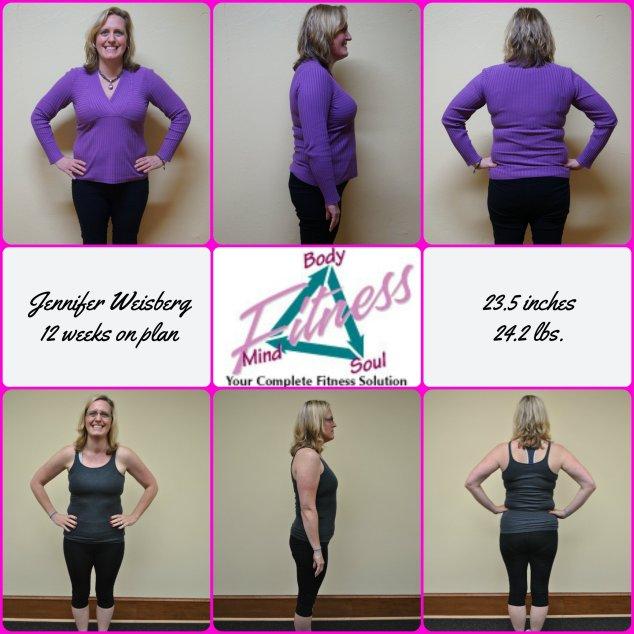 Jennifer Weisberg 12 week photo