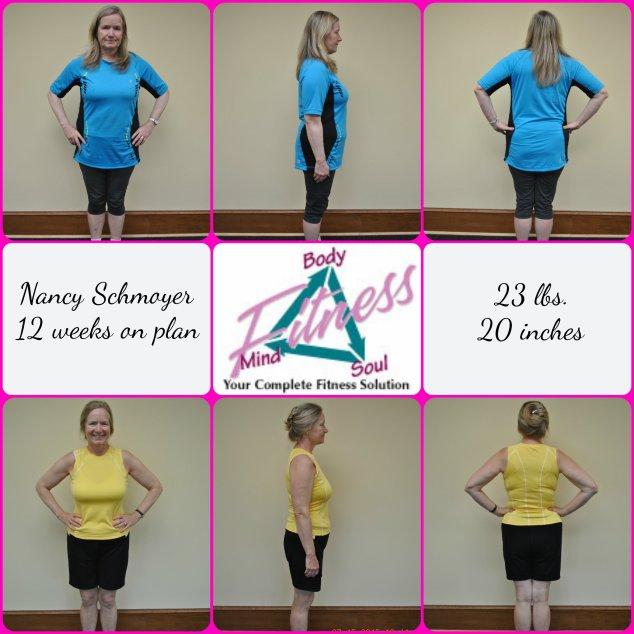 Nancy Schmoyer 12 week photo