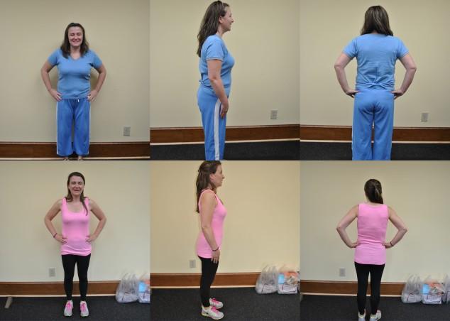 Rachael Masters 12 week photo 5-15-14