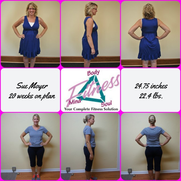 Sue Moyer 20 week photo