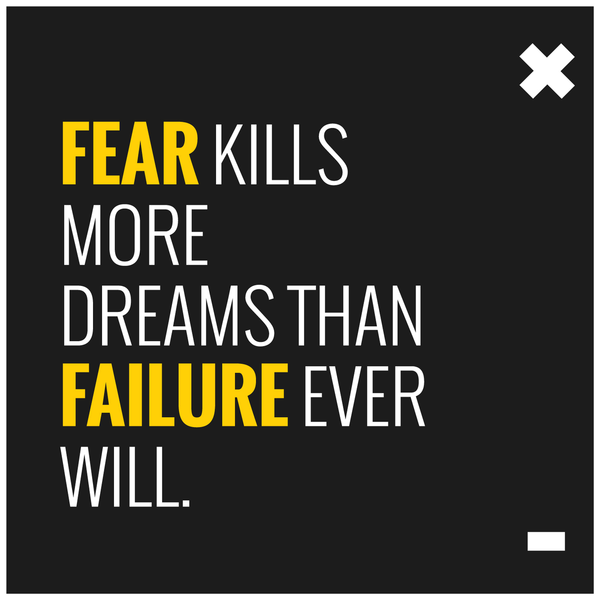 Fear of Failure blog
